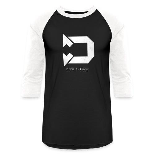 Baseball Tee 1 Black/White - Baseball T-Shirt