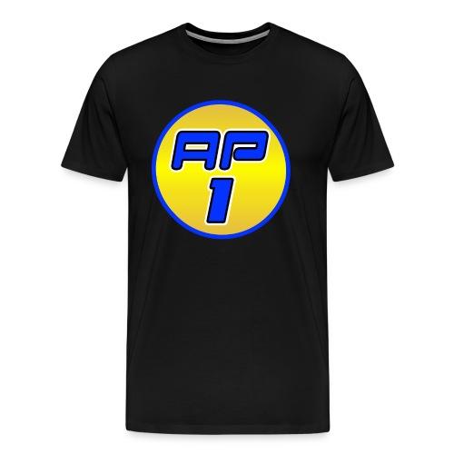 AP1 Men's Premium T Shirt : black - Men's Premium T-Shirt