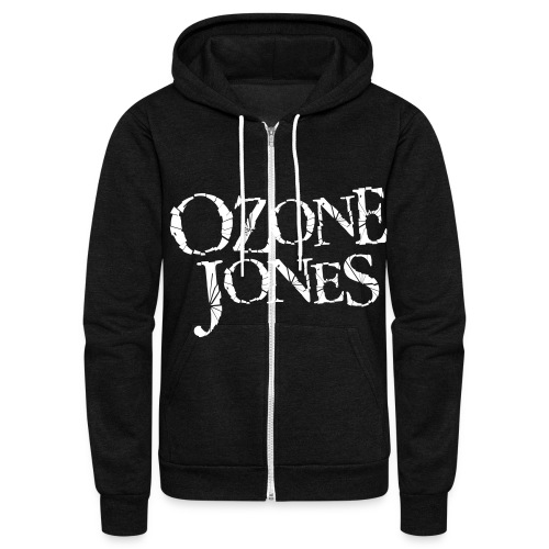 Ozone Jones Zip-Up Hoodie - Unisex Fleece Zip Hoodie