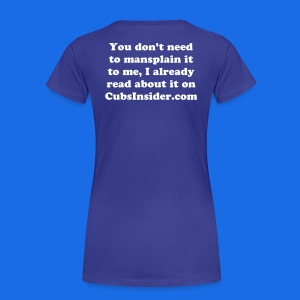 CI Mansplain - Women's Premium T-Shirt