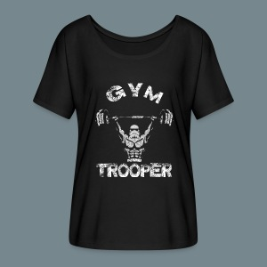 GYM TROOPER - Women's Flowy T-Shirt