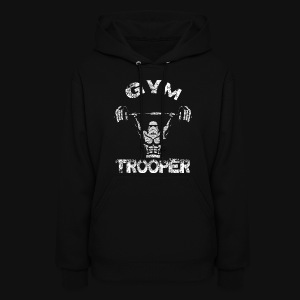 GYM TROOPER - Women's Hoodie
