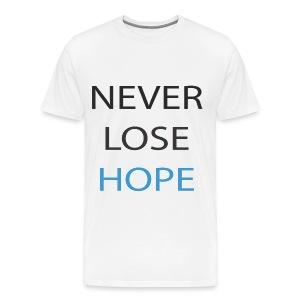 neverlosehope T-Shirts - Men's Premium T-Shirt