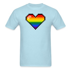 Pixel love - Men's T-Shirt