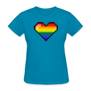 Pixel love - Women's T-Shirt