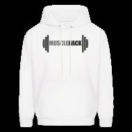 Hoodies ~ Men's Hoodie ~ MuscleHack Hoodie (logo 1)