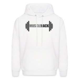 MuscleHack Hoodie (logo 1) - Men's Hoodie