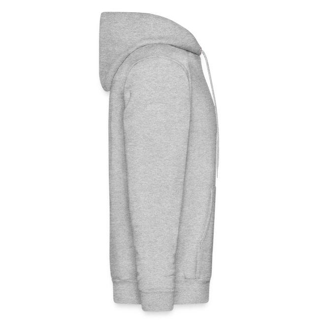 MuscleHack Hoodie (logo 3 gray)