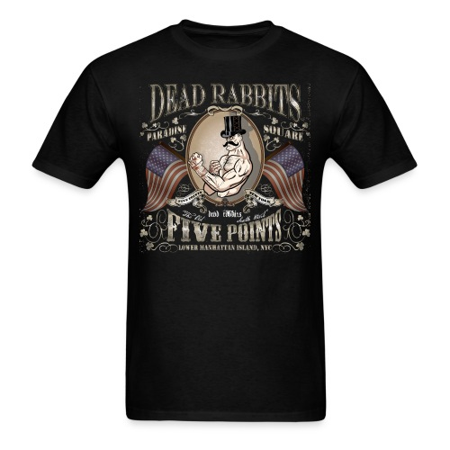 Dead Rabbits Brawler Top Hat - Men's T-Shirt