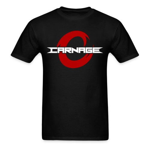 Official Carnage Tee w/ Sponsors - Men's T-Shirt