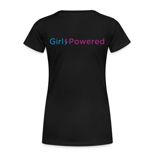 Girl Powered Womens T-Shirt - Women's Premium T-Shirt