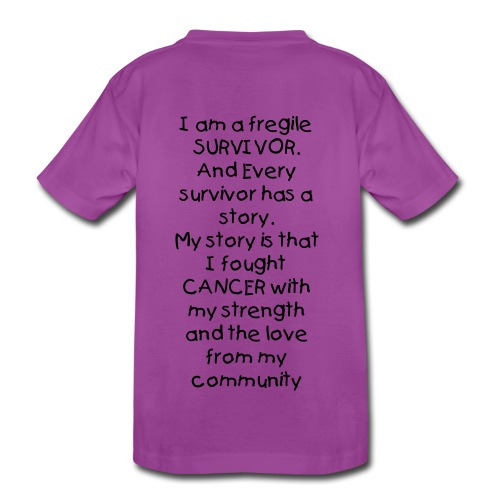 Young Cancer Survivor - Kids' Premium T-Shirt