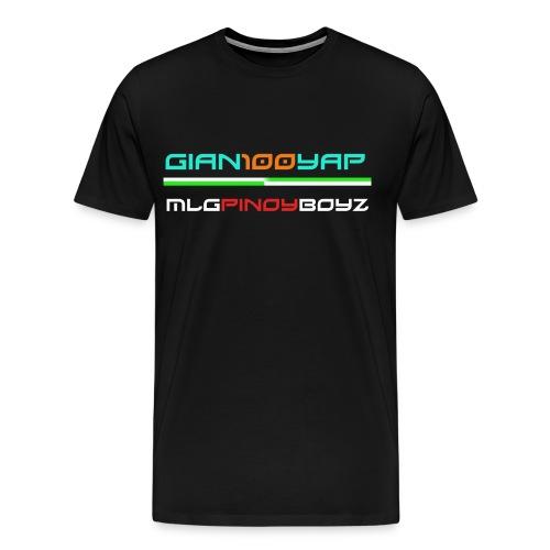 Gian100yap and MLGPinoyBoyz T-shirt for kids - Men's Premium T-Shirt