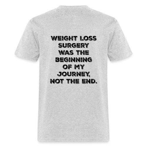 Beginning of my journey - Men's T-Shirt