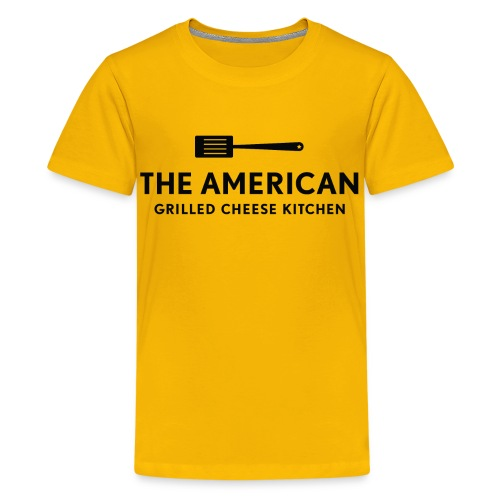 KIDS TAGCK Logo Tee - Yellow - Kids' Premium T-Shirt