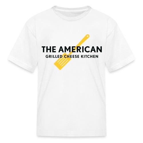 KIDS TAGCK - Yellow Spatula logo  - Kids' T-Shirt