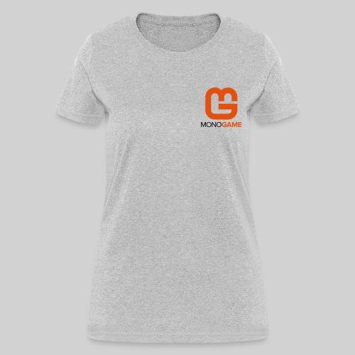 Pocket Logo Grey Women's Tee - Women's T-Shirt
