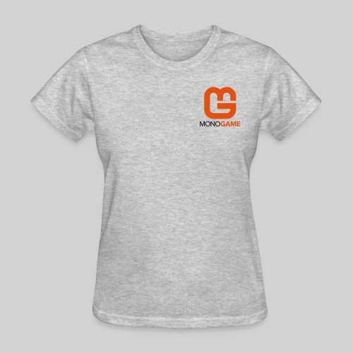 Pocket Logo Grey Women's Tee - Women's T-Shirt