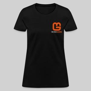 Pocket Logo Black Women's Tee - Women's T-Shirt