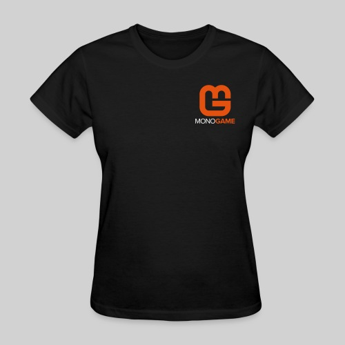 Pocket Logo Black Women's Tee - Women's T-Shirt