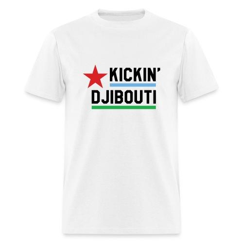 Kickin' Djibouti - white - Men's T-Shirt