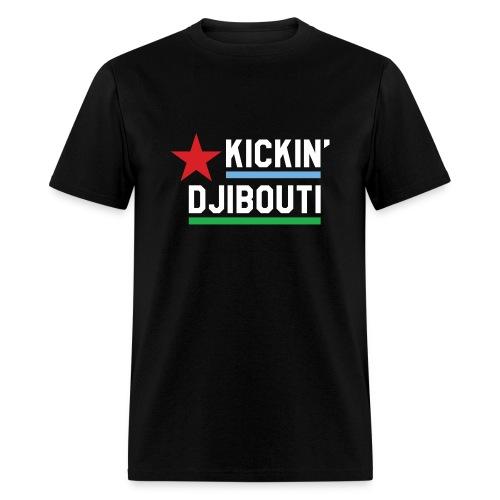 Kickin' Djibouti - black - Men's T-Shirt