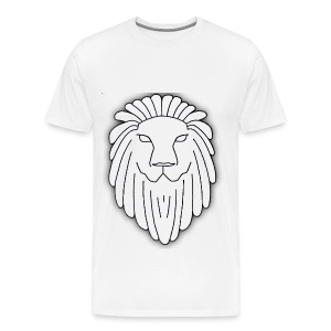 Lion Face - Men's Premium T-Shirt