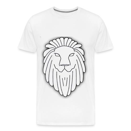 Lion Face - Men's Premium T-Shirt