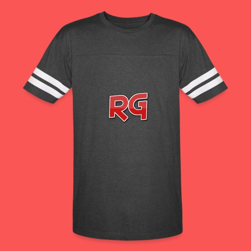 Rizzy Gaming White Stripes - Vintage Sport T-Shirt