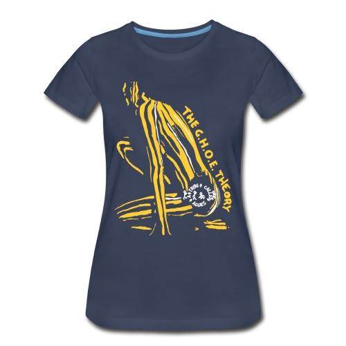 Women's The GHOE Theory Premium Tee  - Women's Premium T-Shirt