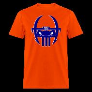T-Shirts ~ Men's T-Shirt ~ Gator Football Helmet - Orange & Blue
