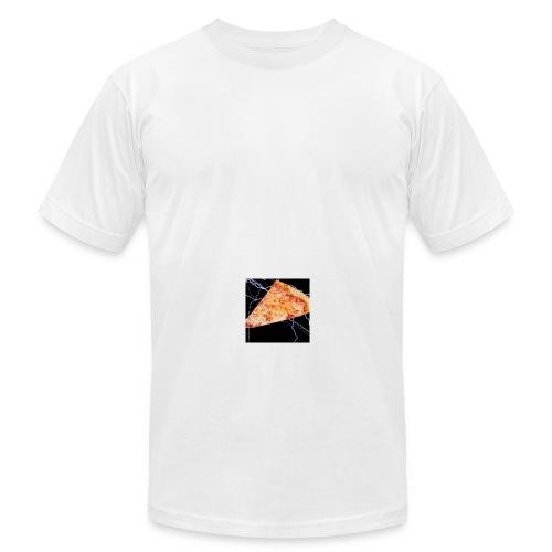 PizzaFinest logo T-Shirt - Men's Fine Jersey T-Shirt