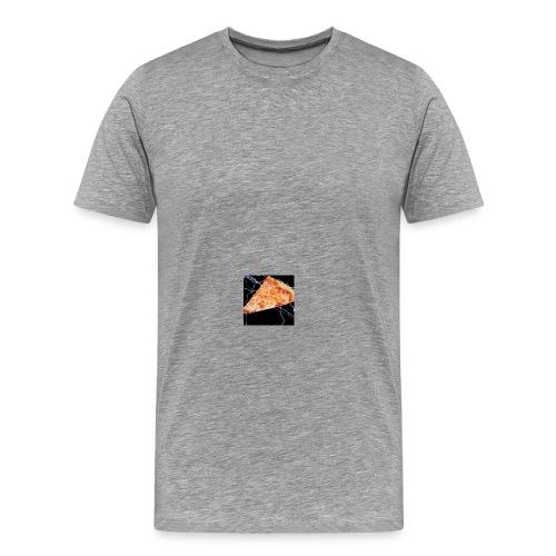 PizzaFinest logo T-Shirt grey - Men's Premium T-Shirt