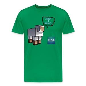 Adopt a Sheep - Men's Premium T-Shirt