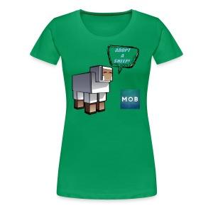 Adopt a Sheep - Women's Premium T-Shirt