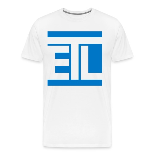 ETL Initial w/Back Title - Men's Premium T-Shirt