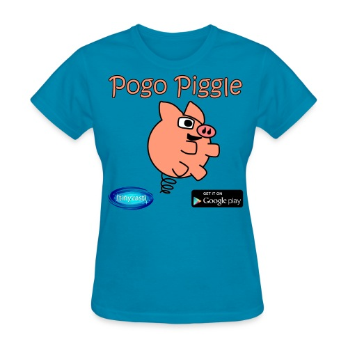 Pogo Piggle Women's T-Shirt - Women's T-Shirt