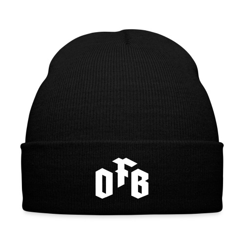 OFB Knit Cap - Knit Cap with Cuff Print