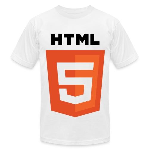HTML 5 Color - Men's Fine Jersey T-Shirt