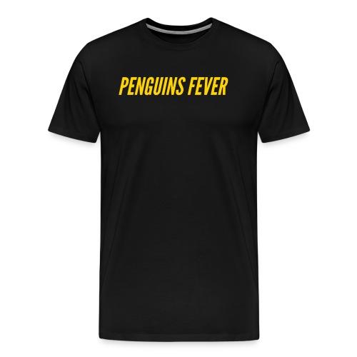 Penguins Fever Logo Tee - Men's Premium T-Shirt