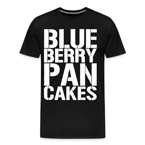 BlueBerry Pancakes - Men's Premium T-Shirt