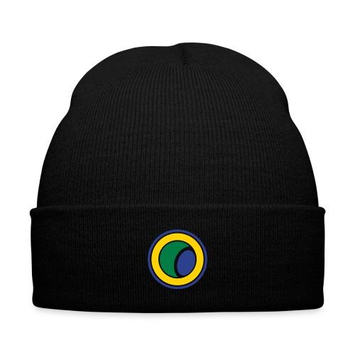 Capoeira Logo Knit Cap - Knit Cap with Cuff Print