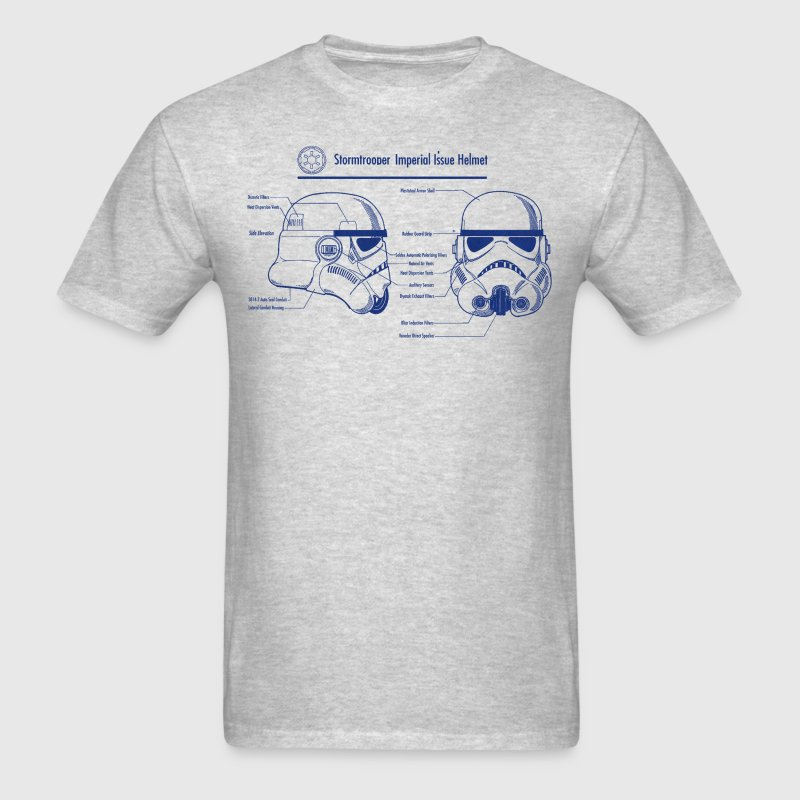 stormtrooper blueprint star wars T-Shirts - Men's T-Shirt