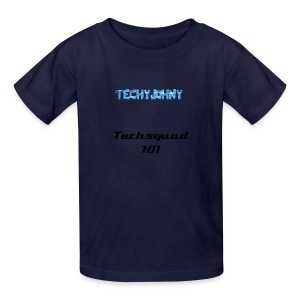 Dark Gray techy T - Kids' T-Shirt