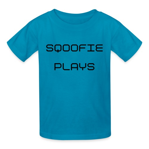 Sqoofie Plays Baby Size T-Shirt - Kids' T-Shirt