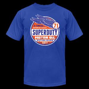 Superduty oil - Men's Fine Jersey T-Shirt