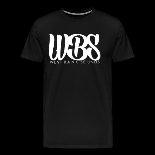 WESTBANK (White Logo Tee Mens) - Men's Premium T-Shirt