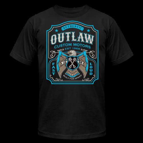 Outlaw Motors - Men's Fine Jersey T-Shirt