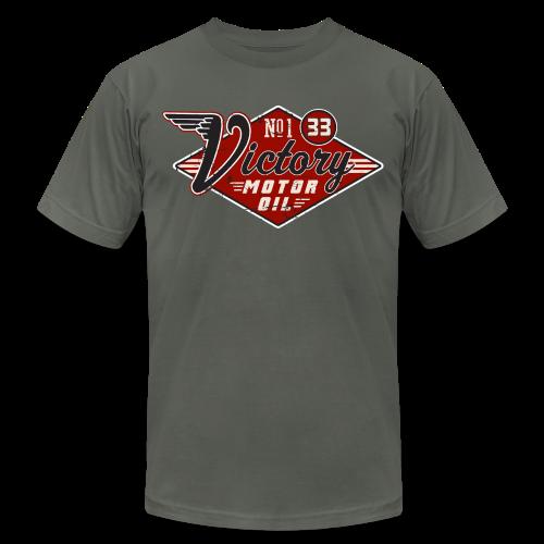 Victory Motor Oil - Men's Fine Jersey T-Shirt