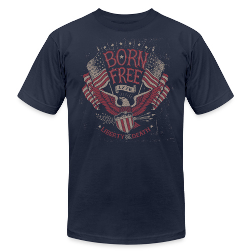 Born Free - Men's Fine Jersey T-Shirt